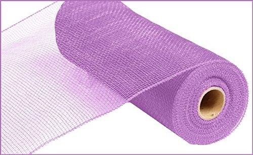 10 inch x 30 feet Deco Poly Mesh Ribbon - Value Mesh (Lavender)