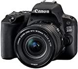 Canon EOS 200D Kit Black + EF-S 18-55 is STM, 2250C002 (+ EF-S 18-55 is STM)