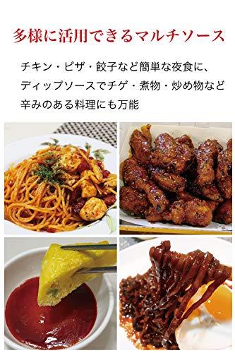 200g|ブルダック炒め麺韓国調味料たれ激辛辛味スパイシーマルチソース|チキンピザ餃子チゲ煮物炒め物など万能ソース