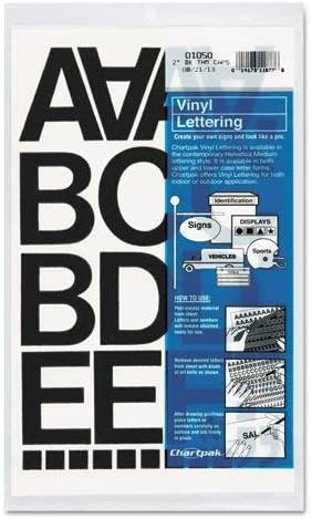 discount CHARTPAK 1050 Press-On Vinyl Letters Super special price Numbers Adhesive amp; Self