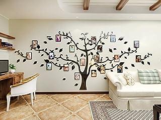 D ecalframe Autocollant photoes arbres Cadre Décoration d/'intérieur Fashion Autocollant Mural PVC