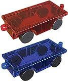 PicassoTiles 2 Piece Car Truck Construction...