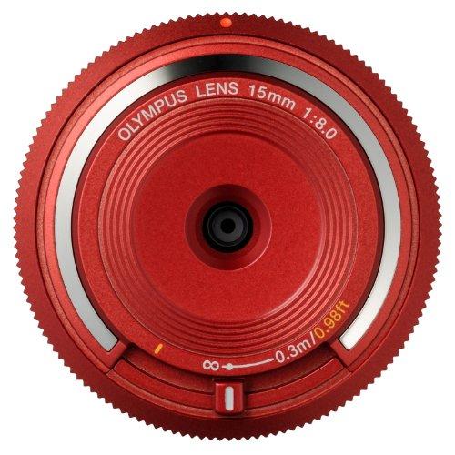 OLYMPUS ボディキャップレンズ マイクロフォーサーズ用 レッド BCL-1580 RED