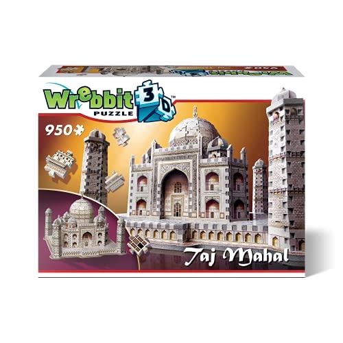 WREBBIT 3D Taj Mahal 3D Jigsaw Puzzle (950-Pieces)