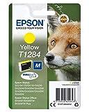 Epson Stylus T1284, Cartucho de Tinta para Epson BX305F/BX305FW/BX305FW Plus, Amarillo, 1 unidad, Ya disponible en Amazon Dash Replenishment