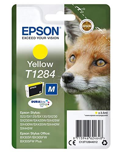 """EPSON Cartouche d'encre""""Fox"""" pour Stylus SX445W Series - Jaune"""