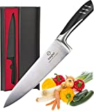chef knife 8 Inch - kitchen knife German steel with Gift box - best chef knife for High Carbon...