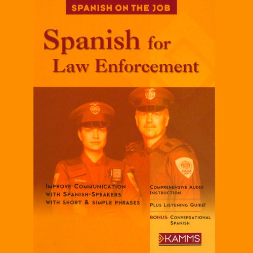 Spanish for Law Enforcement audiobook cover art
