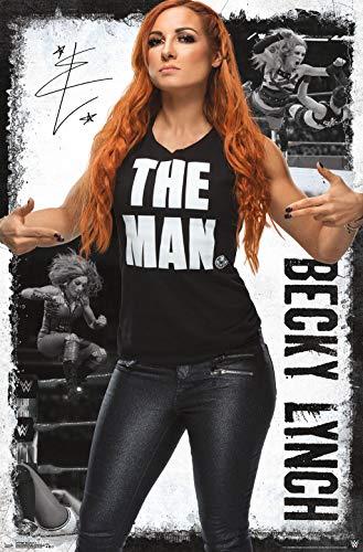 """Trends International WWE - Becky Lynch 19 Wall Poster, 22.375"""" x 34"""", Unframed Version"""