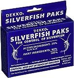 Dekko Silverfish Packs, 2 Boxes - Includes the SJ pest guide eBook