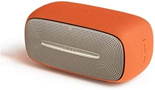 MINGTAI X30 Wireless Bluetooth Desktop Speaker, Multimedia Audio Speaker, Computer Speaker - Red (Color : Orange)