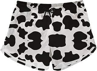 HUGS IDEA Women's Quick Dry Board Shors Cute Swim Trunks Beach Pants