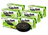 Lote de 6 jabones Tropical Naturals Dudu Osun, color negro