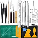 28 PCS Precision Craft Tools Set Vinyl Weeding Tools Kit for Weeding Vinyl, Silhouettes, Cameos, DIY Art Work Cutting, Hobby, Scrapbook