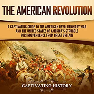 The American Revolution audiobook cover art