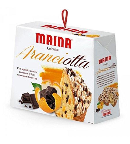 colomba maina Maina - COLOMBE ORANGE & CHOCOLAT 750GR
