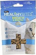 VetIQ Healthy Bites Breath & Dental For Cats & Kittens, 65g - Pack of 8