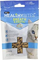 Helps control plaque & tartar build up Contains parsely & clove leaf oils for fresh breath High meat content Wheat and soya free Suitable for sterilised cats