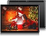 Deca core 10.1' Inch TYD Tablet Google Android 10, 4G LTE Dual SIM, 4GB RAM 64GB Storage, 1920 1200 Full HD IPS Touchscreen,Dual Camera, WiFi/WLAN/Bluetooth/GPS TYD-109(Sliver) (Black Metal)