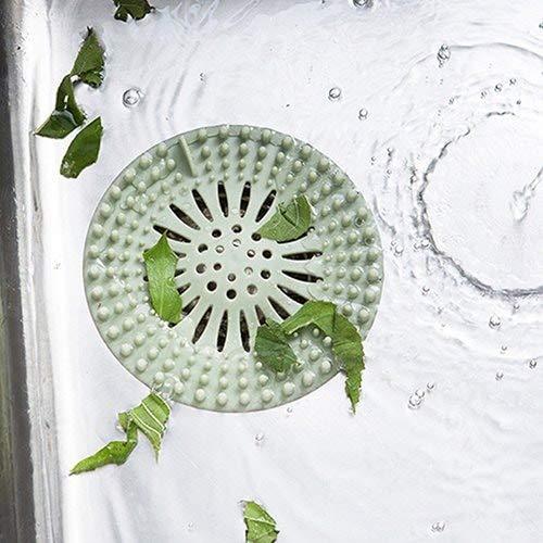 Sevenshop Waschbecken Haarfilter Plug 2Tlg - Green Apple