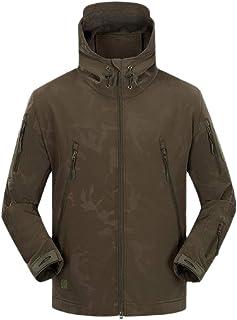 XINHEO Men Waterproof Tactical Camouflage Color Outdoor Hood Skin Coat