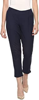 BIBA Women's Straight Fit Pants
