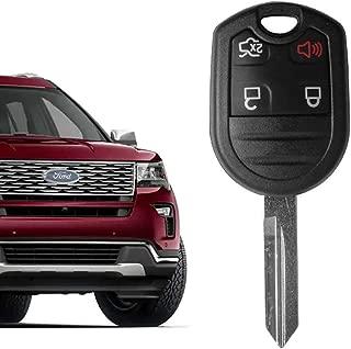 VOFONO Car Key Fob Keyless Entry Remote fits Ford, Lincoln, Mazda, Mercury, CWTWB1U793 Pack of 1