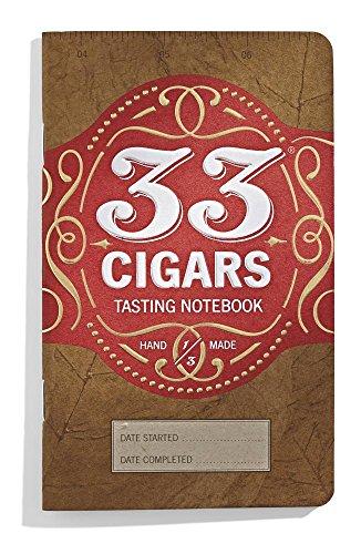 33 Cigars Cigar Tasting Notebook