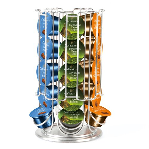 Tchibo Cafissimo Kapselspender (zum Aufbewahren und Sortieren Ihrer Kaffeekapseln), für 30 Kapseln