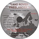 Navegación Sat Nav Mapa DVD Actualización 2019 - Compatible con Land Rove Freelander 2 - Sistema DENSO (Disco A)
