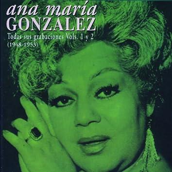 Ana María González. Todas Sus Grabaciones Vol.1 Y 2