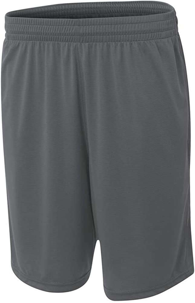 Youth Medium Graphite Athletic Shorts