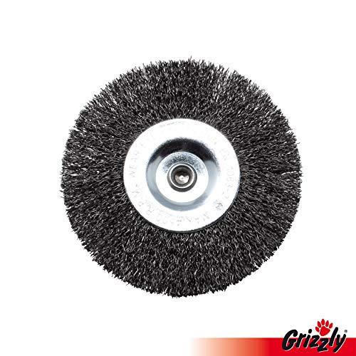 Ersatz Fugenbürste, Rundbürste aus Metall für Grizzly Universalbürste, elektrischer Fugenkratzer ERB 550-1H, Grizzly ERB 550-2S, Grizzly ERB 550-3U