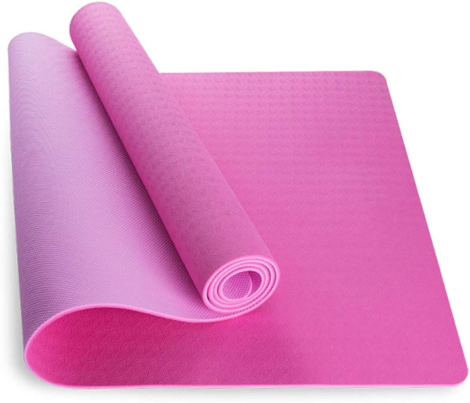 Jia He Yoga Matte Yoga-Matte - Anfnger Yoga Fitness Pilates Multi-Funktions-Anti-Rutsch-Unscented Yogamatte [sechs Farben Optional] Dicke 6 Mm