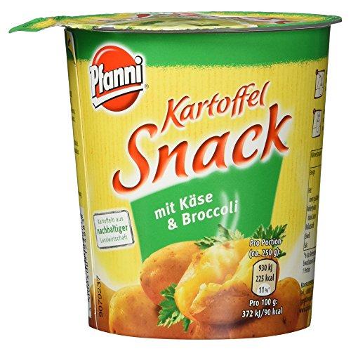 Pfanni Kartoffel Snack mit Käse und Broccoli, 50g