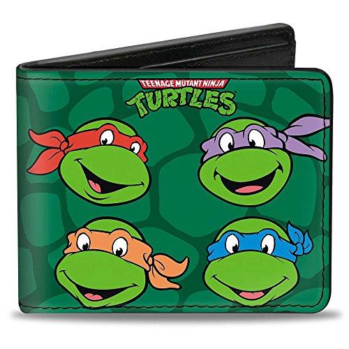 Buckle-Down Bifold Wallet Ninja Turtles
