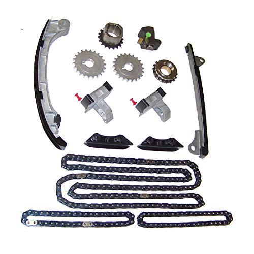 DNJ TK969 Timing Chain Kit/For 2003-2015/ Toyota/ 4Runner, FJ Cruiser, Tacoma, Tundra/ 4.0L/ DOHC/ V6/ 24V/ 241cid/ 1GRFE