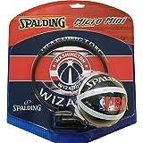 SPALDING(スポルディング) バスケットボール アクセサリー マイクロミニバックボード ワシントン・ウィザーズ NBAロゴ入り 77-674J バスケ バスケット 77-674J