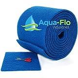 Aqua-Flo Cut to Fit AC / Furnace Premium Washable Reusable Air Filter Pad (16'x 25'x 1')