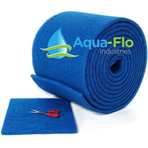 "Aqua-Flo Cut to Fit AC / Furnace Premium Washable Reusable Air Filter Pad (16""x 25""x 1"")"
