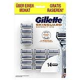 Gillette SkinGuard Sensitive Confezione Pelli Sensibili Uomo con 14 Lamette di Ricambio...