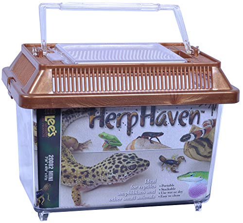 Lees Aquarium Herphaven Rectangle Reptile Carrier
