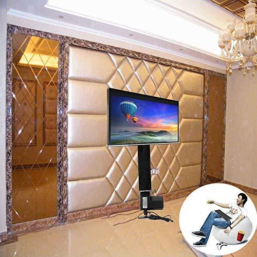 Soporte de TV motorizado de 500 mm, Pantalla Plana LCD, Soporte de TV con Controlador inalámbrico, Ahorra Espacio, Soporte de elevación de TV eléctrica, para TV de 14'-32'