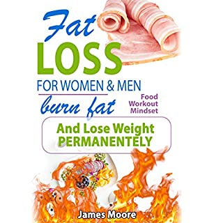 Page de couverture de Fat Loss for Women and Men: Burn Fat and Lose Weight Permanently