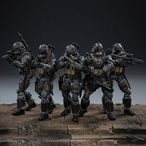 RAVPump Soldier Action Figure, 10.5cm 1/18 Removable Soldier Model USA Army Special Tactics Team Model with High Degree of Reduction (Random Soldier)