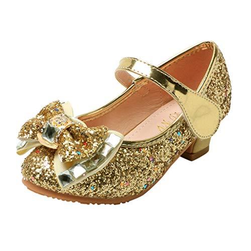 FRAUIT Scarpe Tacco Bambina Carnevale Paillettes Glitter Mary Jane Scarpe Principessa Ragazze Da Cerimonia Eleganti Scarpe Battesimo Feste Primaverile Primaverili Sandali Sandalo