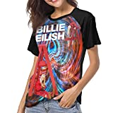 BE-AUTIFUL Billie Eilish Woman Hipster Short Sleeve T-Shirt Black XL