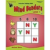 Mind Benders Book 1 (Grades PreK-K)