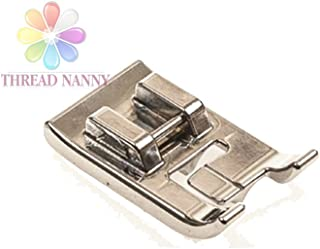 ThreadNanny Double Piping Sewing Machine Presser Foot - Fits All Low Shank Snap-On Singer*, Brother, Babylock, Euro-Pro, Janome, Kenmore, White, Juki, New Home, Simplicity, Elna and More!