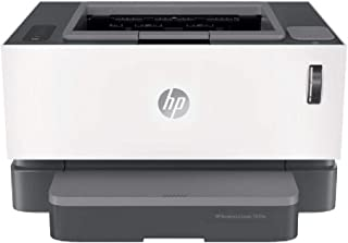 HP Neverstop Laser 1000W - Wireless Mono Printer - White - 4RY23A, Single Function(Print Only)